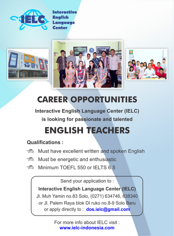 Lowongan English Teacher - small
